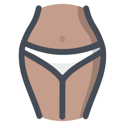 Black Women Panties icon
