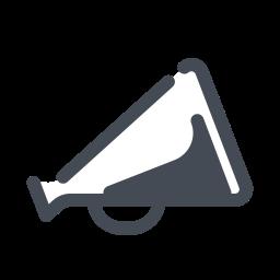 Bullhorn Megaphone icon