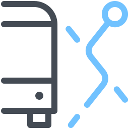 Bus Alternative Route icon