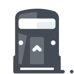 Bus Front View icon