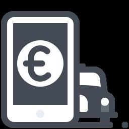 Euro Taxi Bill icon