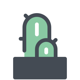 Cactus in Pot icon
