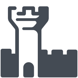 Castle Outline icon