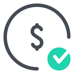 Check Dollar icon