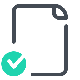 Reviewed Document icon