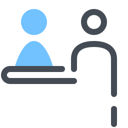 Check-in-Schalter icon