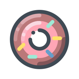Cherry Donut icon