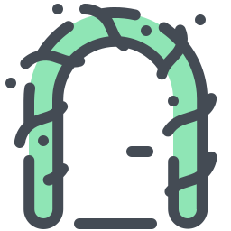 Christmas Door Decoration icon