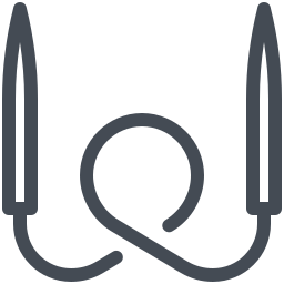 Circular Knitting Needles icon