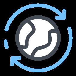 Circumnavigation icon