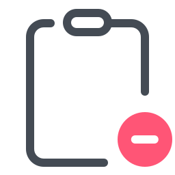 Empty Clipboard icon