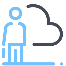 Cloud Business icon
