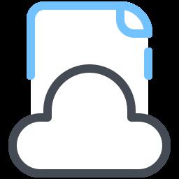 クラウドドキュメント icon