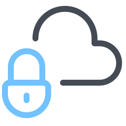 Secured Cloud Storage icon