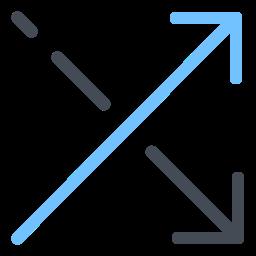 Cross Shuffle icon