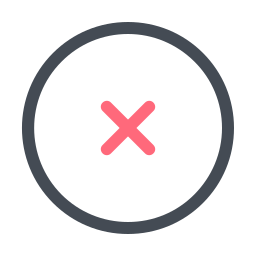 Cross Mark icon