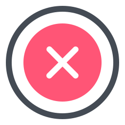 Delete Sign icon