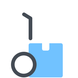 Delivery Handcart icon