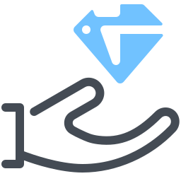 Diamantpflege icon