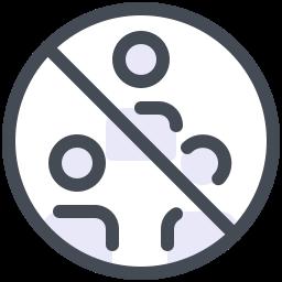 Do Not Gather Groups icon