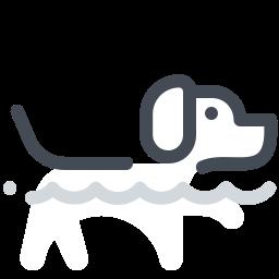 Dog Swim icon
