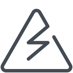 Electricity Hazard icon