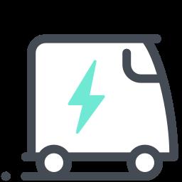 Electromobile icon
