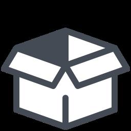 Пустая коробка icon