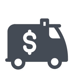 Encashment Car icon