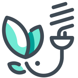 Energiesparlampe icon