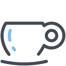 Coffee Icons In Pastel Style For Graphic Design And User Interfaces