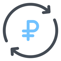 Exchange Ruble icon