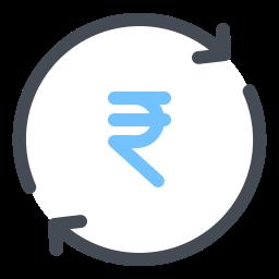 Exchange Rupee icon