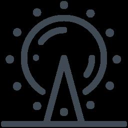 ferris wheel--v1 icon