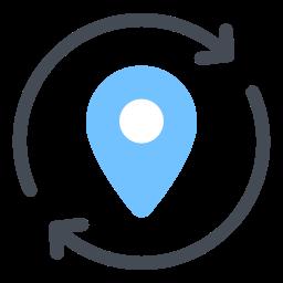 location update icon