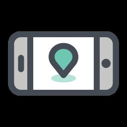 mobile navigator icon