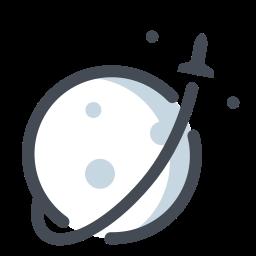 rocket take-off icon