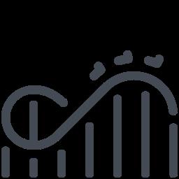 roller coaster--v1 icon
