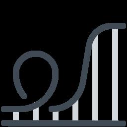 roller coaster--v2 icon