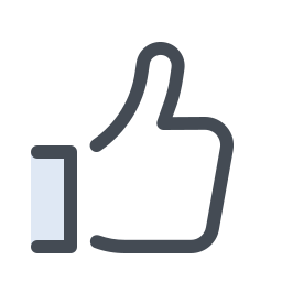 Hand With a Thumb Up icon