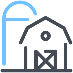 Farm With Silo icon