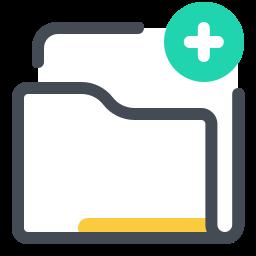 add folder--v1 icon