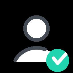 check male--v2 icon