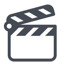 clapperboard -v1 icon