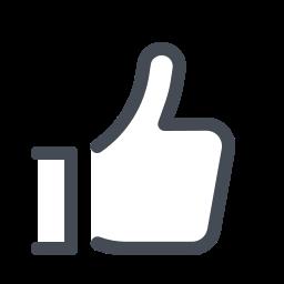 facebook like--v2 icon
