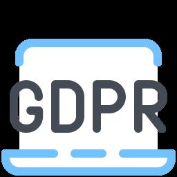 gdpr laptop icon