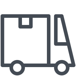 large courier-truck icon