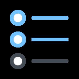list -v2 icon