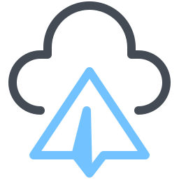 send to-cloud icon