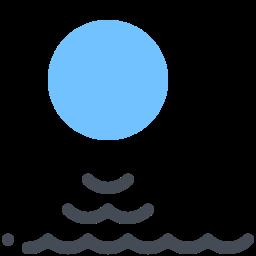 sun and-sea icon